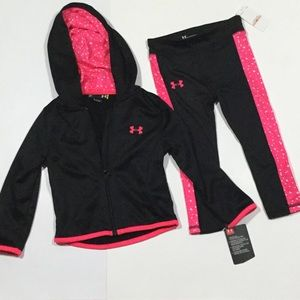 NWT Under Armour girls size 2T.